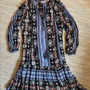 Bohemian Patik Print Dress